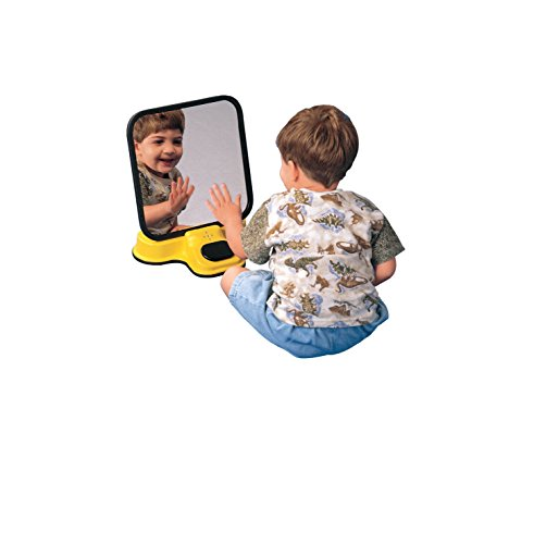 Sensation-Products-100810-Talking-Speech-Therapy-Unbreakable-Mirror-Plastic-8-Length-x-12-Width-x-14-Height-0