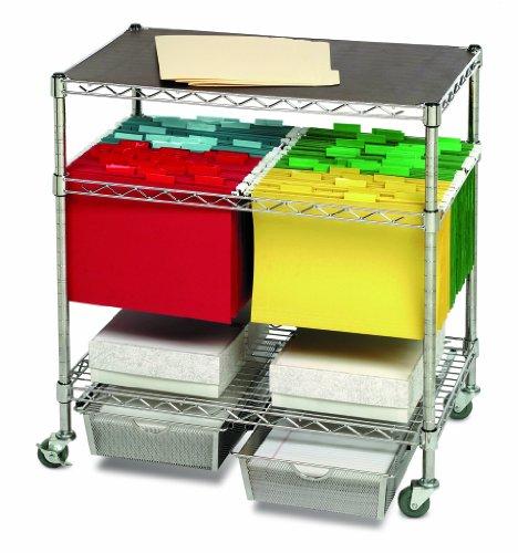 Seville-Classics-Heavy-Duty-Office-Utility-File-Cart-Chrome-0-0