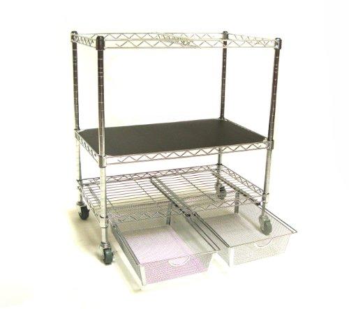 Seville-Classics-Heavy-Duty-Office-Utility-File-Cart-Chrome-0