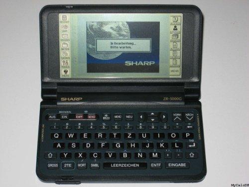 Sharp-Zaurus-ZR-5000-PDA-Personal-Electronic-Organizer-0