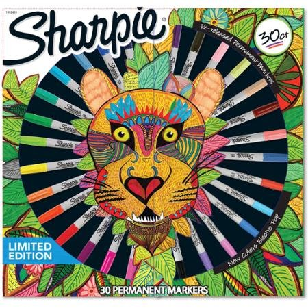 Sharpie-Limited-Edition-30-Count-Permanent-Markers-6-Ultra-Fine-18-Fine-and-6-Re-released-Fine-0
