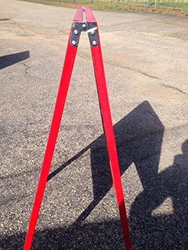 Sidewalk-Display-Sign-Easel-39-X-24-Black-Chalkboard-Double-Sided-Hardwood-Frame-Red-0-1