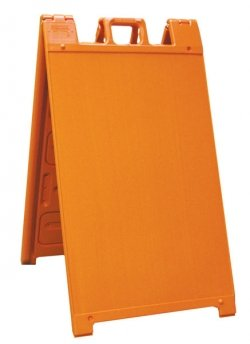 Signicade-Portable-Sign-Stand-outdoor-Sidewalk-Sign-Stand-ColorOrange-0