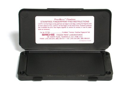 Sirchie-PRINTMATIC-Flawless-Fingerprint-Ink-Pad-of-Size-6-14-x-3-Pack-of-2-0