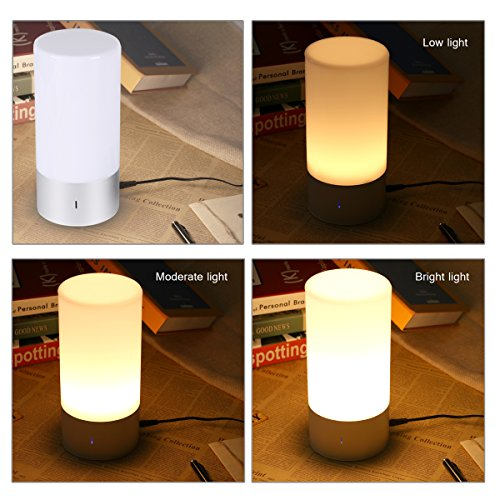 Smart-Touch-Table-Lamp-with-Bluetooth-speaker-AONOKOY-Touch-Sensor-Bedside-Lamp-Night-Light-Support-Warm-White-Light-Dimmable-RGB-Color-Change-for-Home-Party-Wedding-0-1