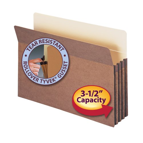 Smead-File-Pocket-Straight-Cut-Tab-3-12-Expansion-Legal-Size-Redrope-25-per-Box-74224-0-0