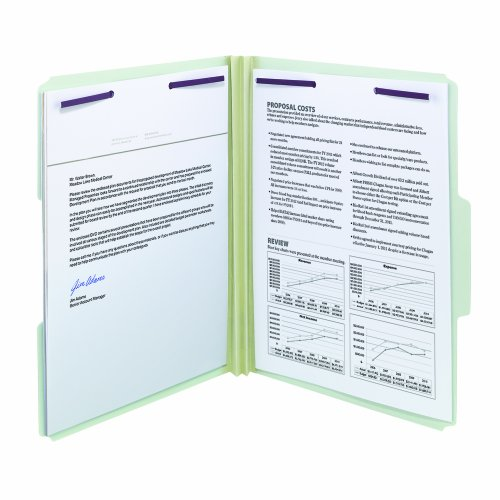 Smead-Pressboard-File-Folder-with-SafeSHIELD-Fasteners-2-Fasteners-13-Cut-Tab-2-Expansion-Letter-Size-GrayGreen-25-per-Box-14934-0-0