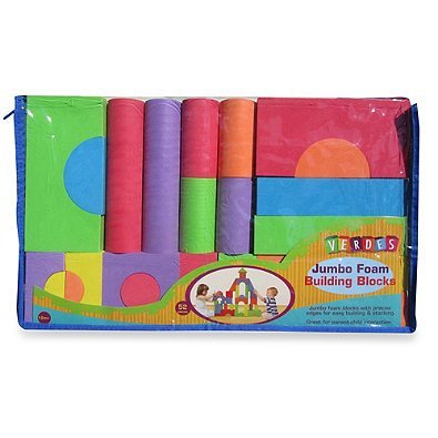 Soft-Safe-Affordable-Verdes-52-Piece-Jumbo-Foam-Building-Blocks-Set-0-0