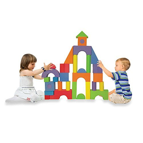 Soft-Safe-Affordable-Verdes-52-Piece-Jumbo-Foam-Building-Blocks-Set-0