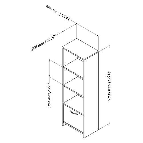 South-Shore-Step-1-Shelf-Bookcase-0-1