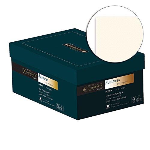 Southworth-Fine-Business-Envelopes-25-Cotton-10-24-lb-Ivory-250-Count-J404I-10-0-0