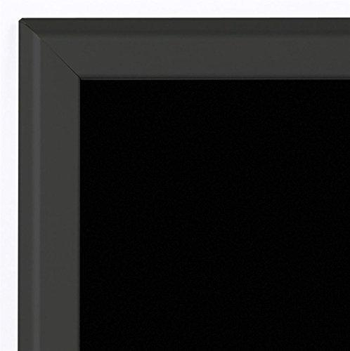 Specials-Board-24w-x-30h-x-34d-Black-Matte-Aluminum-Frame-Liquid-Chalk-Menu-with-21-14-x-27-14-Writing-Area-Wet-Erase-Restaurant-Sign-Features-Snap-Frames-0-1