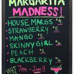 Specials-Board-24w-x-30h-x-34d-Black-Matte-Aluminum-Frame-Liquid-Chalk-Menu-with-21-14-x-27-14-Writing-Area-Wet-Erase-Restaurant-Sign-Features-Snap-Frames-0