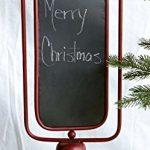 Standing-Metal-Spinning-2-Sided-Chalkboard-Red-23-12H-0-0