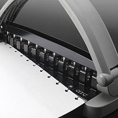 Staples-Arc-Desktop-Paper-Punch-8-Sheet-Capacity-Gray-0-0
