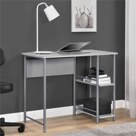 Student-Desk-in-Simplistic-Design-with-Large-Workspace-suitable-for-use-with-any-Laptop-or-Computer-and-Side-Bookshelves-for-easy-access-to-books-and-other-reference-materials-36W-x-20D-x-30H-0-1