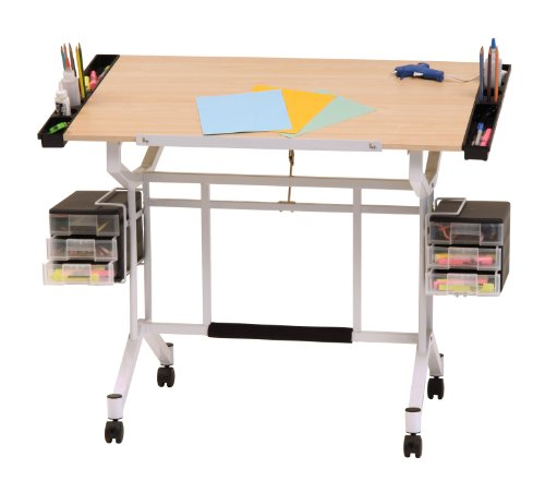 Studio-Designs-Pro-Craft-Station-in-White-with-Maple-13245-0