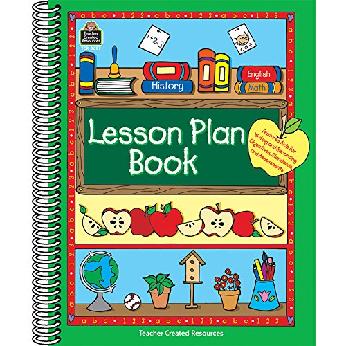 TEACHER-CREATED-RESOURCES-LESSON-PLAN-BOOK-GREEN-BORDER-Set-of-6-0