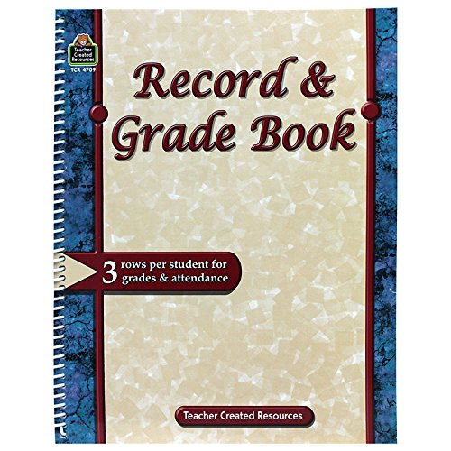 TEACHER-CREATED-RESOURCES-RECORD-GRADE-BOOK-Set-of-6-0