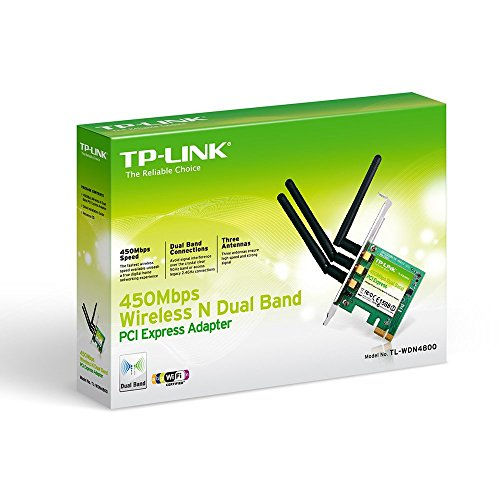 TP-LINK-N900-24GHz-or-5GHz-up-to-450Mbps-Wireless-Dual-Band-PCI-Express-Adapter-for-Windows-TL-WDN4800-0-0