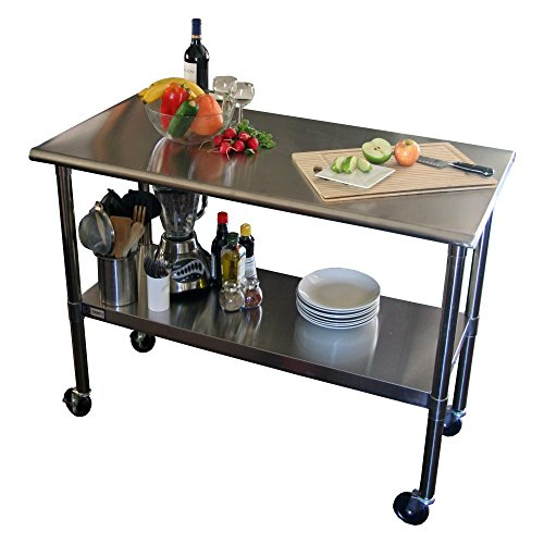 TRINITY-EcoStorage-48-in-NSF-Stainless-Steel-Prep-Table-with-Wheels-0