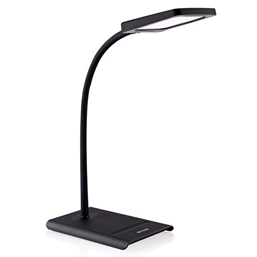 TROND-Halo-10W-Dimmable-LED-Desk-Lamp-Premium-Diffusion-Film-3-Lighting-Modes-7-Level-Dimmer-Touch-Controlled-Memory-Function-Flexible-Gooseneck-Glare-Free-0