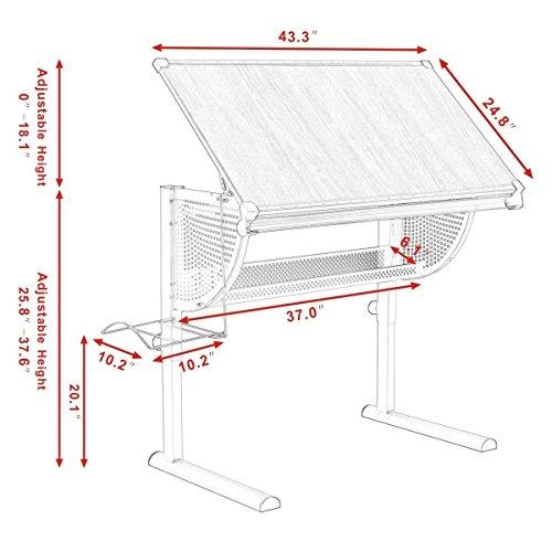 Tangkula-Drafting-Table-Drawing-Desk-Adjustable-Art-Craft-Hobby-Studio-Architect-Work-0-0