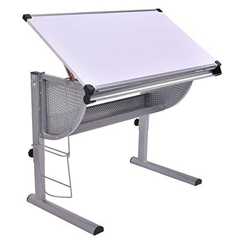 Tangkula-Drafting-Table-Drawing-Desk-Adjustable-Art-Craft-Hobby-Studio-Architect-Work-0-1