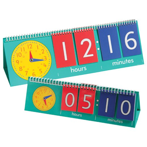 Tell-Time-Teaching-Flip-Chart-and-10-Student-Flip-Charts-0