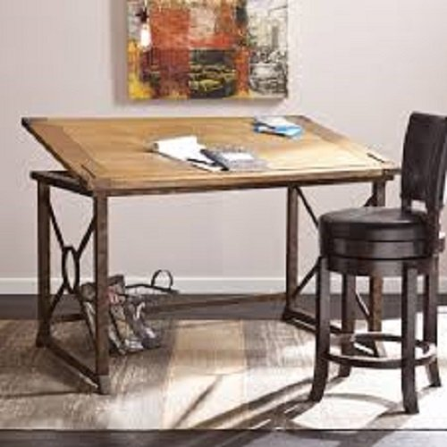 Tilt-top-Drafting-Table-Desk-Workstation-for-Home-and-Office-0