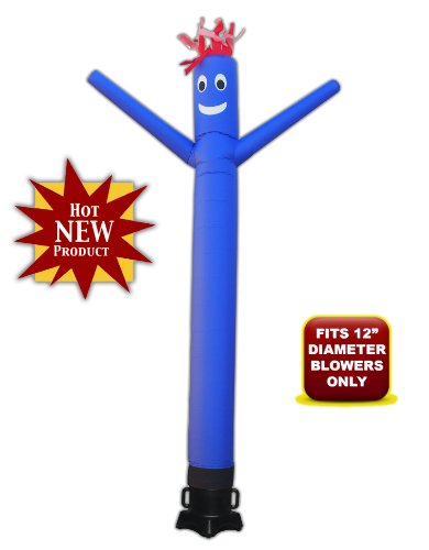 Torero-Inflatables-10ft-Tube-Man-Sky-Puppet-Air-Dancer-and-Fly-Guy-Blower-Combo-Set-0-0