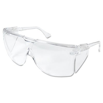 Tour-Guard-III-Safety-Glasses-Clear-FrameLens-20Box-Sold-as-20-Each-0