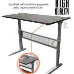 Transcendesk-Standing-Desk-55-inch-Long-Easily-Crank-from-Sitting-to-Standing-Black-Top-Silver-Frame-0-1