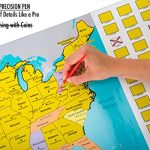 True-North-Maps-Scratch-Off-World-US-Travel-Tracker-Map-Set-Scratch-Countries-and-Flags-with-Precision-Pen-0-0