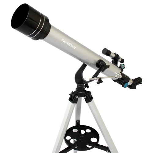 Twinstar-60mm-Refracting-Telescope-175x-Magnification-Built-in-Compass-3-Different-Eyepieces-Hard-Plastic-Carrying-Case-0-0