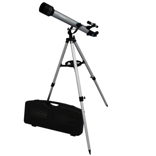 Twinstar-60mm-Refracting-Telescope-175x-Magnification-Built-in-Compass-3-Different-Eyepieces-Hard-Plastic-Carrying-Case-0