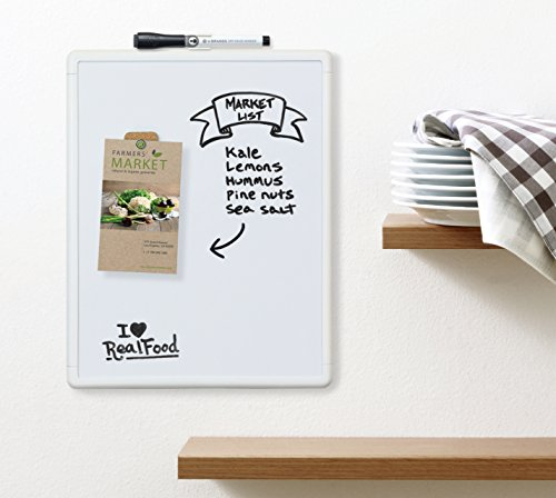 U-Brands-Contempo-Magnetic-Dry-Erase-Board-11-x-14-Inches-White-Frame-0-1