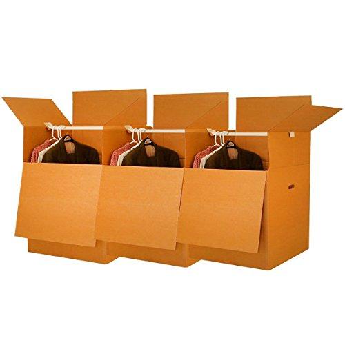 UBOXES-Wardrobe-Moving-Boxes-Shorty-Space-Savers-3-PK-20x20x34-w-Bars-0-1