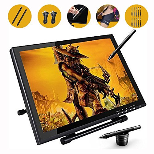 Ugee-1910B-Digital-Pen-Tablet-Display-Drawing-Monitor-19-Inch-LCD-Screen-with-2-Original-Cables-and-2-Pen-Chargers-0