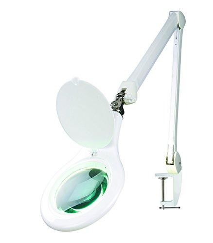 Ultra-Efficient-Desk-Clamp-Mount-56-SMD-LED-Spring-Arm-Magnifying-Lamp-Adjustable-Arm-5-Lens-0