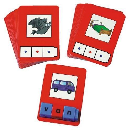 Unifix-Letter-Cubes-ConsonantVowel-Set-and-CVC-Word-Building-Card-Bundle-2-Items-0-0