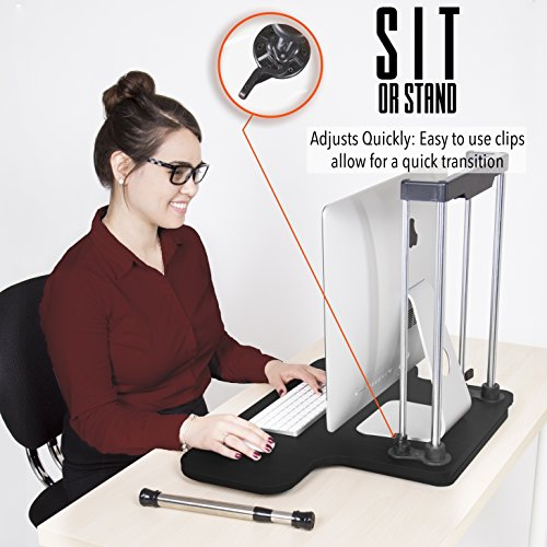 UpTrak-by-Stand-Steady-Standing-Desk-Height-Adjustable-Converts-Any-Desk-or-Cube-to-a-Sit-Stand-Up-Desk-Black-0-1