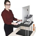 UpTrak-by-Stand-Steady-Standing-Desk-Height-Adjustable-Converts-Any-Desk-or-Cube-to-a-Sit-Stand-Up-Desk-Black-0