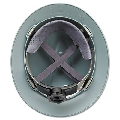 V-Gard-Hard-Hats-Fas-Trac-Ratchet-Suspension-Size-6-12-8-Gray-Sold-as-1-Each-0-1