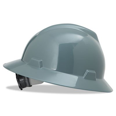V-Gard-Hard-Hats-Fas-Trac-Ratchet-Suspension-Size-6-12-8-Gray-Sold-as-1-Each-0