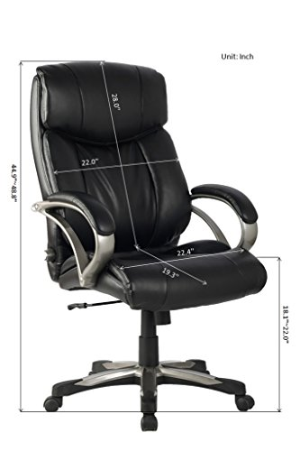 VIVA-High-Back-Ergonomic-Leather-Chair-with-Adjustable-Lumbar-Support-0-0
