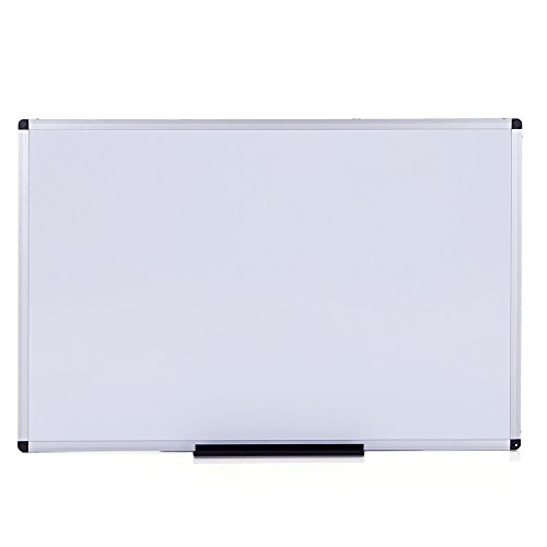 VIZ-PRO-Dry-Erase-Board-Melamine-Silver-Aluminium-Frame-0-0