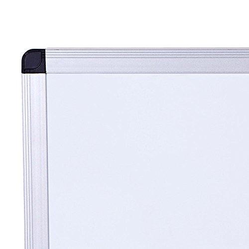 VIZ-PRO-Dry-Erase-Board-Melamine-Silver-Aluminium-Frame-0-1