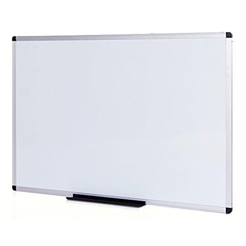 VIZ-PRO-Dry-Erase-Board-Melamine-Silver-Aluminium-Frame-0