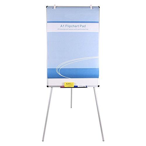 VIZ-PRO-Light-Melamine-Tripod-WhiteboardFlipchart-Easel24-W-x-36-L-0